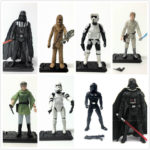 "StarWars figurine : 3.75"" Star Wars Epic Battles SCOUT TROOPER STORMTROOPER CHEWBACCA hasbro figure"