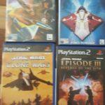Playstation 2 Star Wars Games Lot. - pas cher StarWars