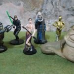 "StarWars figurine : 8) STAR WARS DISNEY STORE EXCLUSIVE RETURN OF JEDI FIGURINES. 6 x 3.75"" Figures"