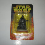 StarWars collection : FIGURINE STAR WARS,DARK VADOR,ATLAS 1:32,n°1,MOC,PLOMB,DARTH VADER,LEAD FIGURE