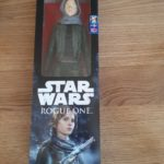 StarWars collection : Neuf Figurine Rogue One Sergeant Jyn Erso Jedha Star Wars Disney Hasbro Neuf