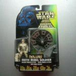StarWars figurine : FIGURINE STAR WARS HOTH REBEL SOLDIER LASER CANNON KENNER