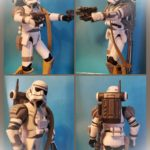 "StarWars collection : Star Wars Force Unleashed Evo Trooper 3.75 "" Figurine 100% Complet"