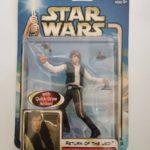 StarWars figurine : STAR WARS FIGURINE HAN SOLO ENDOR RAID SOUS BLISTER NEUF