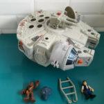 StarWars collection : STAR WARS faucon millenium falcon figurine Galactic Heroes Imaginext Playskool