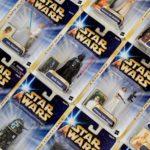 StarWars figurine : Star Wars Saga 2004 (Rayure or) Emballé Figurines (A) - Tout Moc -