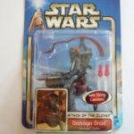 StarWars collection : STAR WARS ATTACK OF THE CLONES DESTROYER DROID GEONOSIS HASBRO 2002 FIGURINE FIG