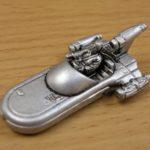 StarWars figurine : Star Wars Micro Machine vaisseau argenté/ argent / figurine **L@@K**
