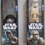 "StarWars collection : STAR WARS Hero Series Lot de 2 figurines 12"" trooper Rogue One boites neuves"