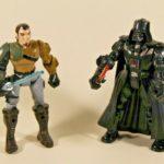 StarWars figurine : Lot de 2 figurines Star Wars - Hero Mashers - Dark Vador & Kanan Jarrus