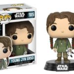 Figurine StarWars : Star Wars Rogue One POP! Vinyl Bobble Head Young Jyn Erso 9 cm Funko figure 185