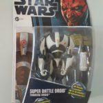 Figurine StarWars : STAR WARS FIGURINE SUPER BATTLE DROID SÉRIE CLONE WARS SOUS BLISTER NEUF
