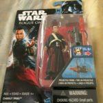 """StarWars figurine : Star Wars Rogue un Chirrut Imwe 3.75 """" Action Figurines Neuf en Boîte Disney"""