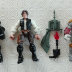 StarWars figurine : LOT figurines HERO MASHERS STAR WARS HAN SOLO BOBA FETT TIE FIGHTER PILOT hasbro