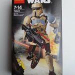 StarWars collection : NEUF - Figurine LEGO STAR WARS / Disney : Scarif Stormtrooper - n°75523