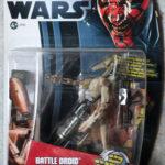 StarWars figurine : FIGURINE Star Wars Movie Heroes Action Figure - BATTLE DROID   NEUF 2012