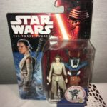 StarWars figurine : STAR WARS The force Awakens FIGURINE FIGURE REY Starkiller base Disney HASBRO