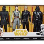 """Figurine StarWars : Disney Hasbro Star Wars 12"""" Epique Rivals 6-Pack Action Figurine Collection"""