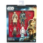 StarWars collection : Special Boîte 4 Figurine Action Rivolta de Jehda Star Wars Rogue One Originelle