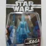 StarWars collection : STAR WARS FIGURINE HOLOGRAPHIC KI-ADI-MUNDI N°27 SÉRIE SAGA COLLECTION NEUF