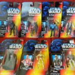 Figurine StarWars : KENNER STAR WARS- THE POWER OF THE FORCE - LOT OF 7 FIGURINES -1995