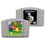 2 N64 - nintendo 64 Super Mario Jeux 64 + - pas cher StarWars