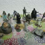 StarWars figurine : COLLECTION STAR WARS Ed ATLAS Lot 13 FIGURINES PLOMB 12 PERSONNAGES + 1 VAISSEAU