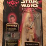 Figurine StarWars : FIGURINE STAR-WARS OBI-WAN-KENOBI EPISODE I LA MENACE FANTOME HASBRO 1999