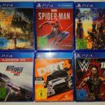 Playstation 4 Spiele Fifa 19,Dirt 4, NFS - jeu StarWars