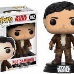 Figurine StarWars : Star Wars Episode VIII POP! Vinyl Bobble Head Poe Dameron 9 cm Funko figure 192
