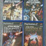 PS2 STAR WARS BUNDLE - BATTLEFRONT 1 2 BOUNTY - Bonne affaire StarWars