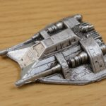 StarWars collection : Star Wars Micro Machine vaisseau argenté/ argent / figurine **L@@K**