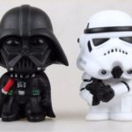 StarWars collection : Star Wars Figurines - Darth Vader Orage Trooper 10cm PVC Vader / Stormtrooper GB