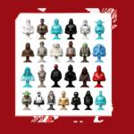 StarWars figurine : FIGURINES STAR WARS MICROPOPZ Leclerc 2017 à l'UNITE ou collection TOUTES DISPOS