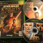 2 ORIGINAL XBOX GAMES STAR WARS KNIGHTS OF - jeu StarWars