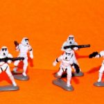 StarWars collection : Star Wars Stormtrooper Figurine Set Micro Machines Desseré Complet