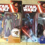 StarWars figurine : JOUET STAR WARS FIGURINE ZUVIO + VADER DISNEY HASBRO EN BOITE NEUF
