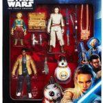StarWars figurine : Star Wars Episode VII Figurine Rey, Finn, BB- 8, Maz Kanata 10cm by Hasbro