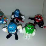 StarWars figurine : Star Wars Mpire M&M Lot of 5 Figures! Leia, Boba Fett, Dooku, Han, Darth Maul