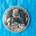 Figurine StarWars : Star Wars 30TH Anniversaire Monnaie Hasbro Figurine Paquet en Stormtrooper