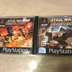 2x PS1 PLAYSTATION 1 STAR WARS GAMES BUNDLE - Occasion StarWars
