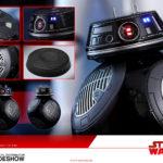 StarWars collection : Hot Toys Star Wars: le Dernier Jedi BB-9E Action Figurine 1/6 Echelle MMS441