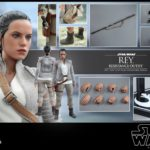 Figurine StarWars : (FR) HOT TOYS 1/6 STAR WARS MMS377 REY RESISTANCE OUTFIT EXCLUSIVE ACTION FIGURE