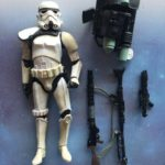 "StarWars collection : Star Wars Black Series 6"" Action Figure: Exclusive Sandtrooper White (loose)"