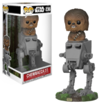 Figurine StarWars : Figurine Funko Pop! Star Wars 236 Chewbacca with AT-ST