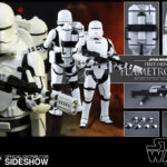 StarWars collection : Hot Toys Star Wars: The Force Awakens Premier Ordre Flametrooper Figurine 1/6