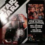 StarWars figurine : STAR WARS - Dark Vador Figurine + Collector pièce 30 ème anniversaire NEUF