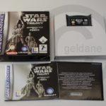 !!! NINTENDO GB ADVANCE SPIEL Star Wars - jeu StarWars