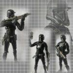 StarWars figurine : Star Wars Série Noire 6 Pouces Impérial Mort Trooper Figurine