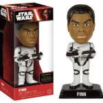 StarWars figurine : Star Wars VII Force Awakens Finn Stormtrooper Wacky Wobler Bobble Head Figure